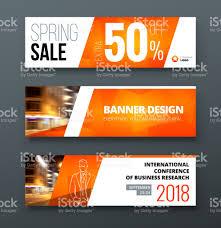 layout banner template banner template design presentation concept orange corporate