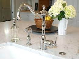 polished nickel kitchen faucets grohe brushed nickel kitchen faucet polished nickel faucet