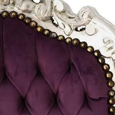 Antike Esszimmerst Le Stuehle Im Antiken Barock Stuhl Lila Silber Sitz Salon Empfang