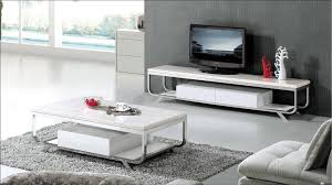 Living Room Tv Table White Marble Furniture Set For Living Room Coffee Table And Tv Tv