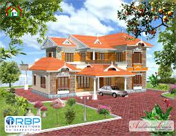 5 bhk traditional style kerala house architecture kerala