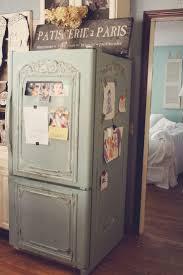 decorate side of refrigerator diy decor door makeover home shabby