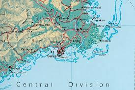 map of suva city fiji map of suva