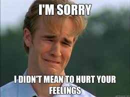 Funny Sorry Memes - i am sorry i didn t mean to hurt your feelings funny meme