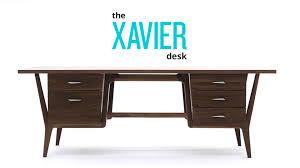 Modern Table Desk by Xavier Desk Joybird