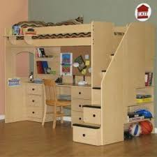 Desk With Bed by Full Under Twin Bunk Beds Foter