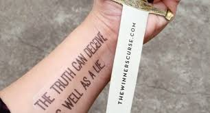 places to get quote tattoos your own temporary book