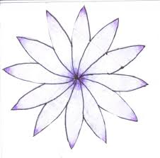 flower drawings simple easy to draw flowers throughout simple