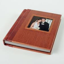leather wedding photo album wedding albums in leather cloth and wood woodstock albums