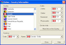 cosmin globex country info browser