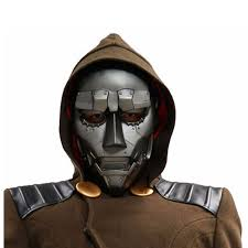 Fantastic 4 Halloween Costumes Aliexpress Buy Xcoser Dr Doom Mask Movie Fantastic
