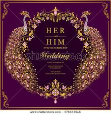 indian wedding card template vector images illustrations and cliparts indian wedding