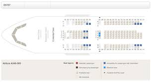 a340 seat map a340 500 seat map oddities flyertalk forums