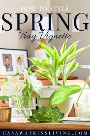Coffee Table Tray by How To Style A Coffee Table Tray For Spring Casa Watkins Living