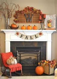 fall decor banner measures 5 long the perfect size for a fireplace mantle or