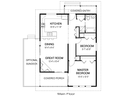 guest house plans under 1000 house plans paxton linwood