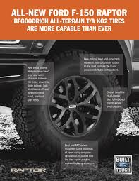 all ford f150 ford f 150 raptor gets bfgoodrich tires ford authority