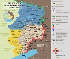 Syria Situation Map by Map Situation In Eastern Ukraine January 29 2017 00 00 Eet