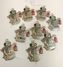 hallmark snowman ornaments ebay