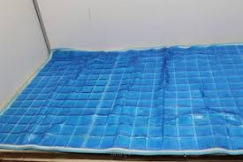 luxury cool gel mattress pad 24x60 cooling mat gel bed sleeping