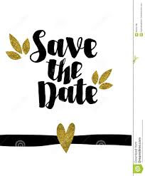 save the date template save the date golden glitter wedding invitation template stock