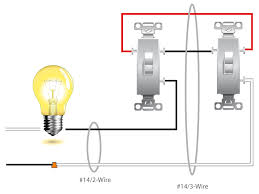 wiring a light for one two switches diagrams gooddy org