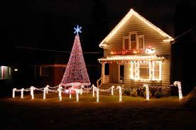 Christmas House by Christmas Decorations Outside Ideas Home Decorating Interior