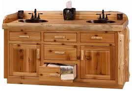 accos 60 inch rustic double sink bathroom vanity marble top with