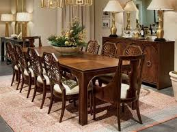 Stanley Furniture Dining Room Set Stanley Furniture Crossing Colonial Mahogany 77 W X 19 D