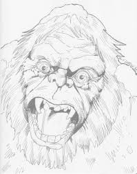 goosebumps coloring pages abominable snowman of pasadena from goosebumps by guy dorian in