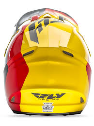 fly racing motocross helmets fly racing yellow black red f2 carbon pure mx helmet fly racing