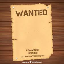 reward sign template 9 wanted poster templates word excel pdf