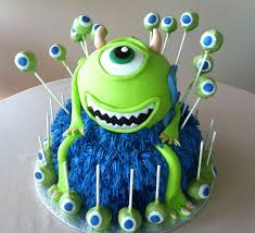 monsters inc birthday cake childrens birthday cakes serving the woodlands and greater houston