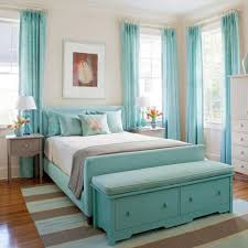 Bedroom With Accent Wall by Interior Teen Room Decorating Ideas Girls Features Turquoise