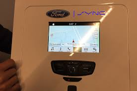 hands on with ford u0027s new sync 3 infotainment system