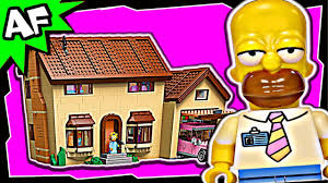 lego simpsons house 71006 stop motion build review youtube