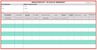 29 images of my medication list template pdf infovia net
