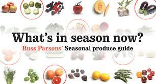 seasonal produce guide california cookbook
