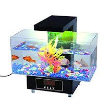 aquarium bureau deluxe aquarium de bureau coffret complet pour la maison ou de