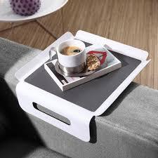 tablette pour canapé tablette accoudoir canapé idées d images à la maison