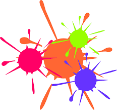 painting clipart paint splatter pencil and in color painting