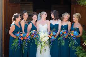 Peacock Themed Wedding Wedding Trend Peacock Themed Weddings Bridal Blog
