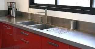 plan travail cuisine sur mesure plan de travail inox cuisine plan travail inox de sur mesure bross
