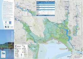 Maps For Publication Of Five Waterproof Water Trail Maps For The San