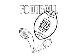 printable pictures printable football coloring pages 17 for