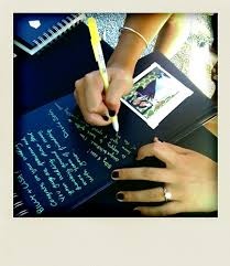 guest book with black pages chou luce you should do this for your wedding get a