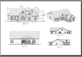 House Plans With Elevations And Floor Plans The Aberdeen 6923 3 Bedrooms And 2 Baths The House Designers