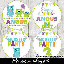 monsters inc cake toppers monsters archives page 3 of 4 cupcakemakeover