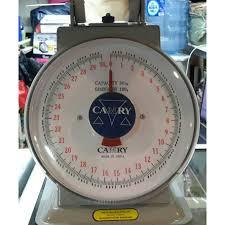 Timbangan Duduk Plastik timbangan duduk jarum camry 30kg 60kg termurah05 elevenia