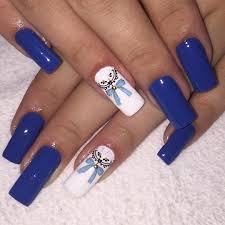nail art ideas blue choice image nail art designs